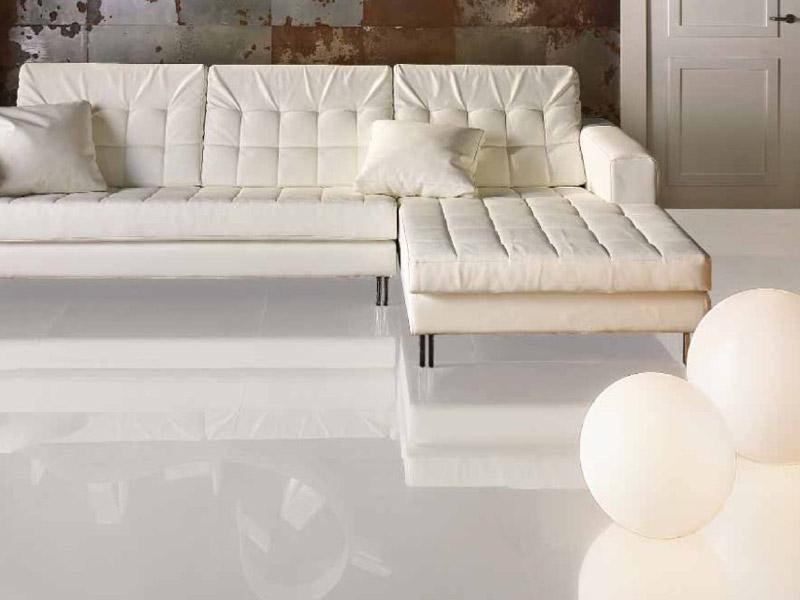 Castorama Carrelage Sol Blanc Brillant