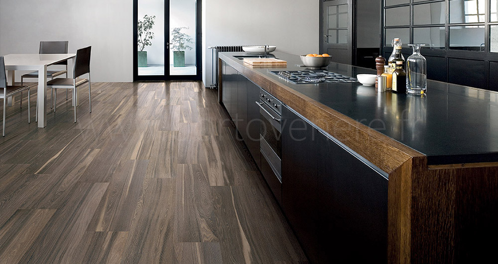 carrelage imitation bois noir livraison. Black Bedroom Furniture Sets. Home Design Ideas