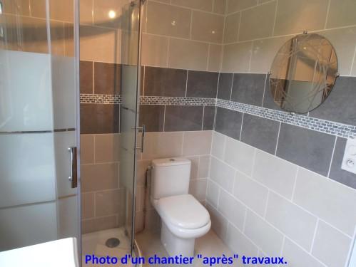 Fuite carrelage baignoire livraison - Castorama carrelage salle de bain ...