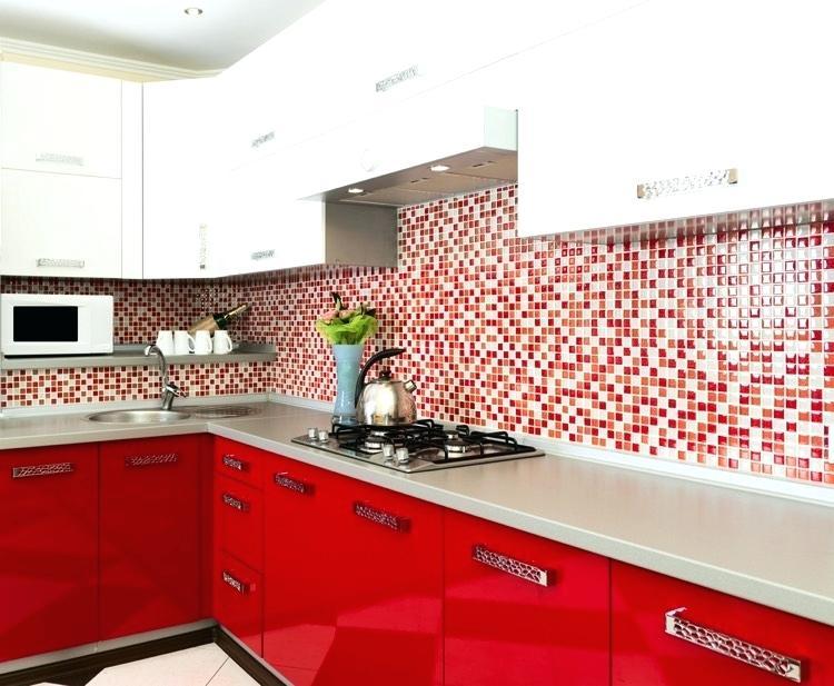 Carrelage Mural Cuisine Gris Et Rouge Livraison Clenbuterolfr