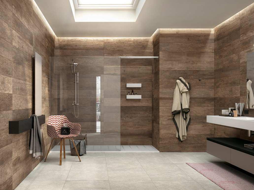 carrelage imitation parquet blanc salle de bain livraison