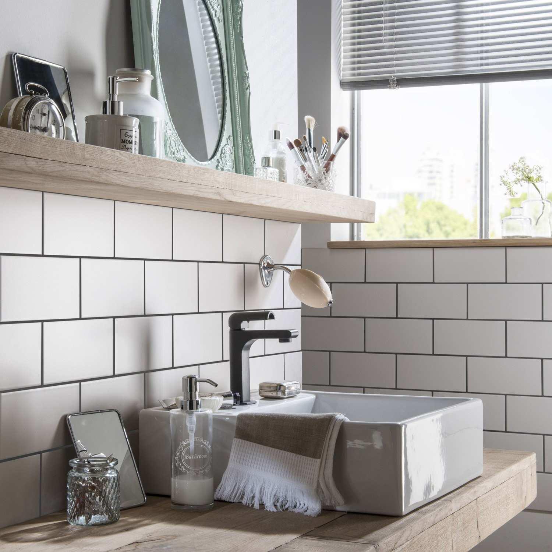 carrelage metro gris cuisine livraison. Black Bedroom Furniture Sets. Home Design Ideas