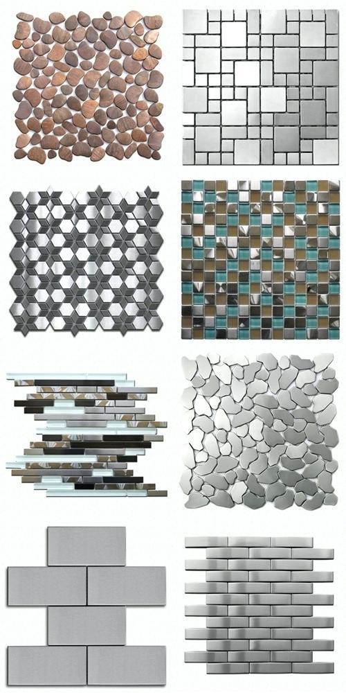 carrelage mosaique inox leroy merlin livraison. Black Bedroom Furniture Sets. Home Design Ideas