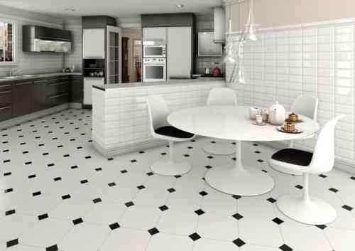 Imitation carrelage noir et blanc - livraison-clenbuterol.fr