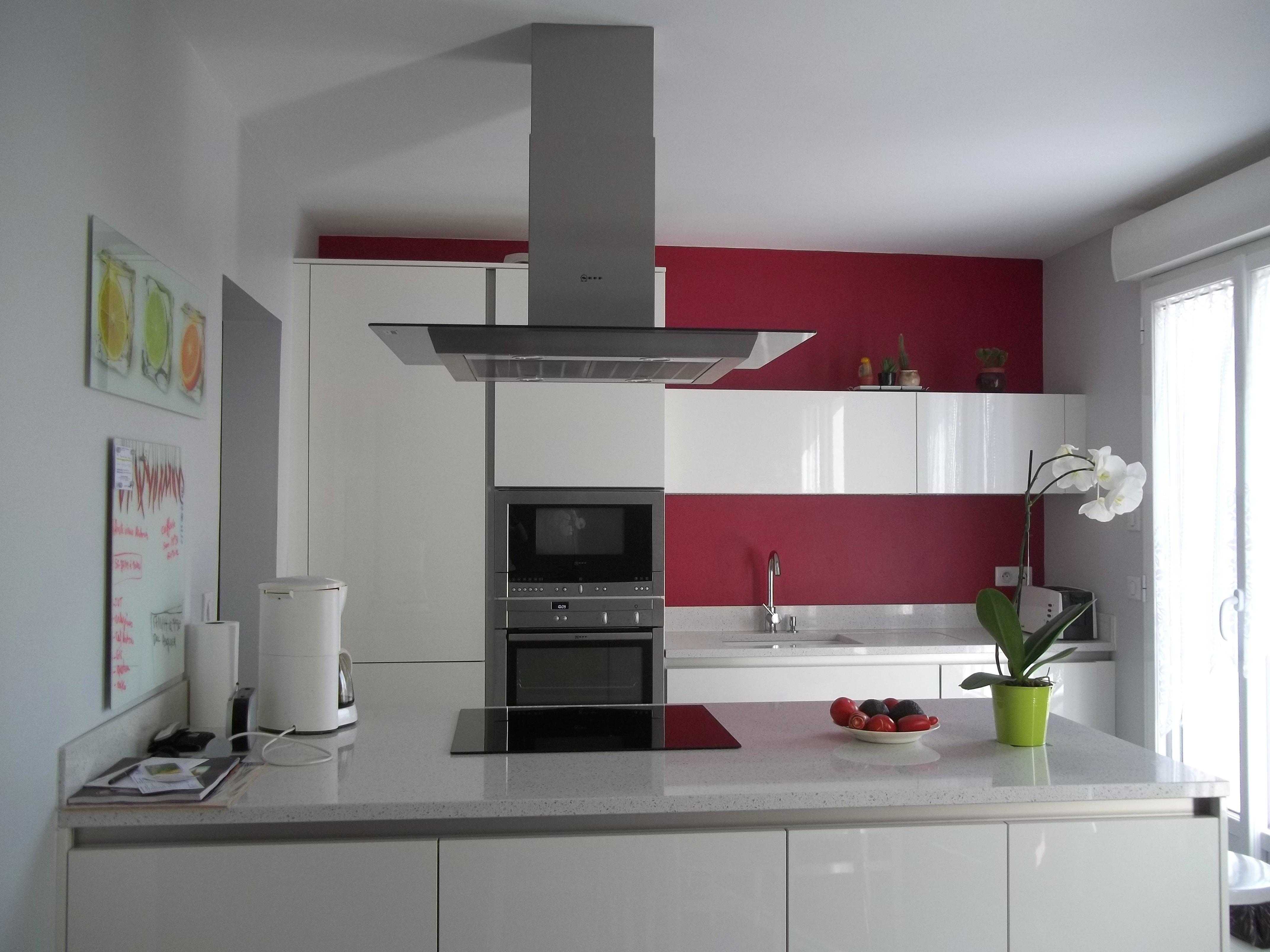 Carrelage mural cuisine gris brillant - livraison-clenbuterol.fr