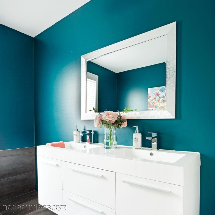 Carrelage salle de bain bleu canard - livraison-clenbuterol.fr