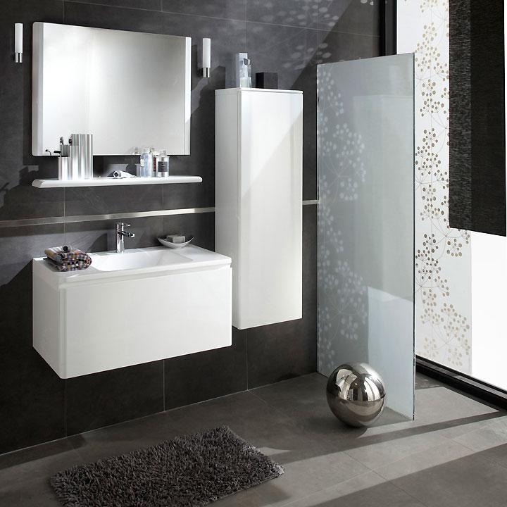 Carrelage noir et blanc lapeyre livraison - Meuble salle de bain lapeyre ...