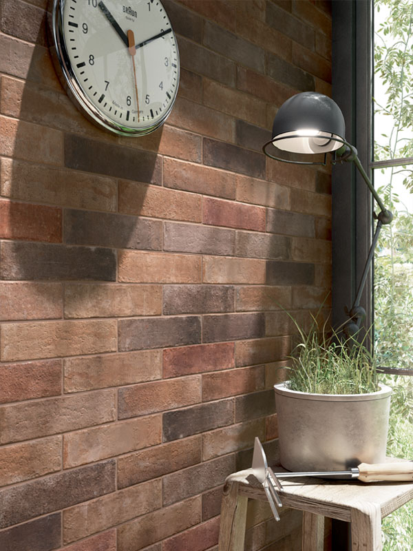 Carrelage style brique - livraison-clenbuterol.fr