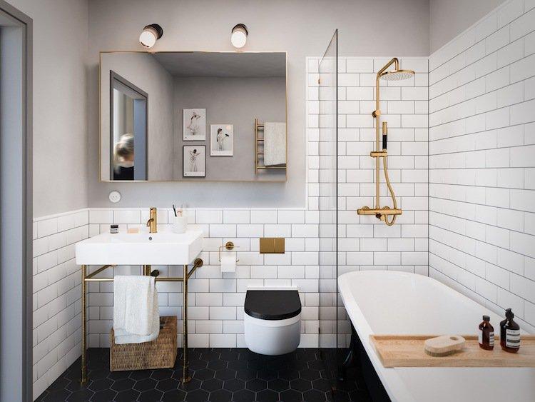 carrelage blanc et dor livraison. Black Bedroom Furniture Sets. Home Design Ideas