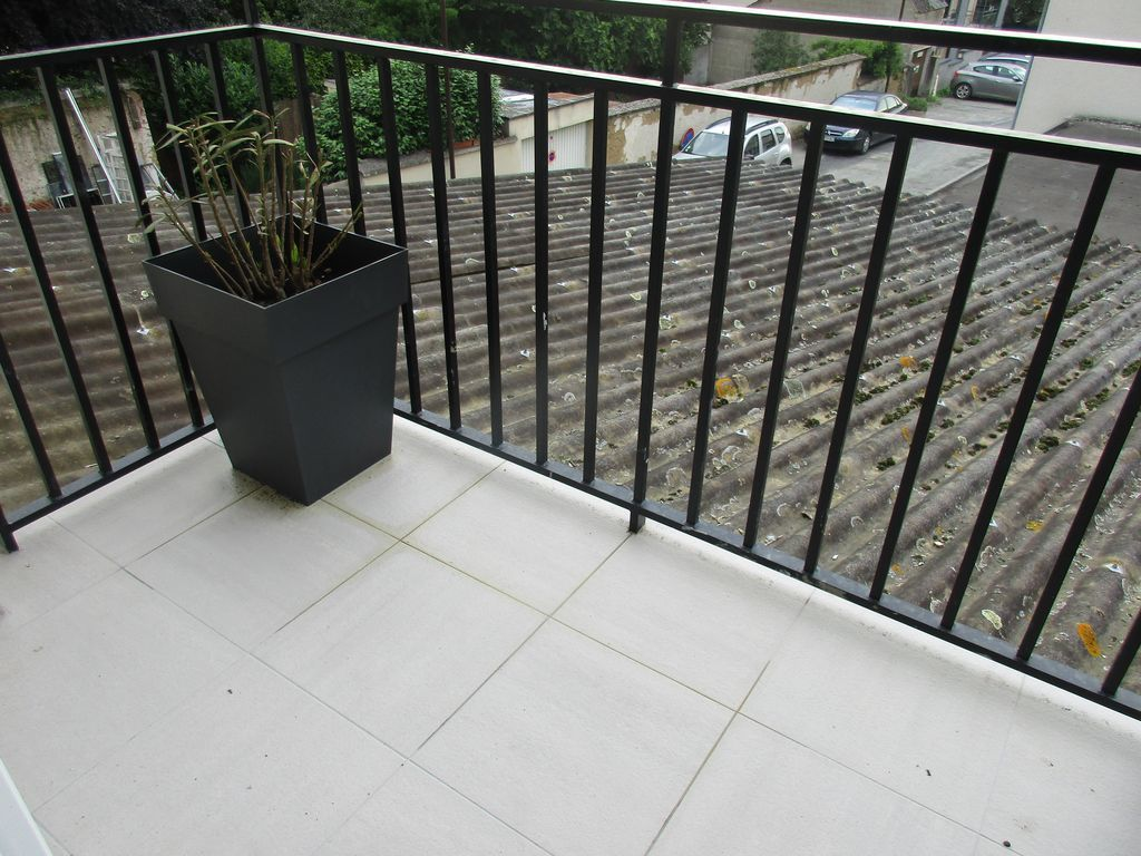 Refection carrelage balcon