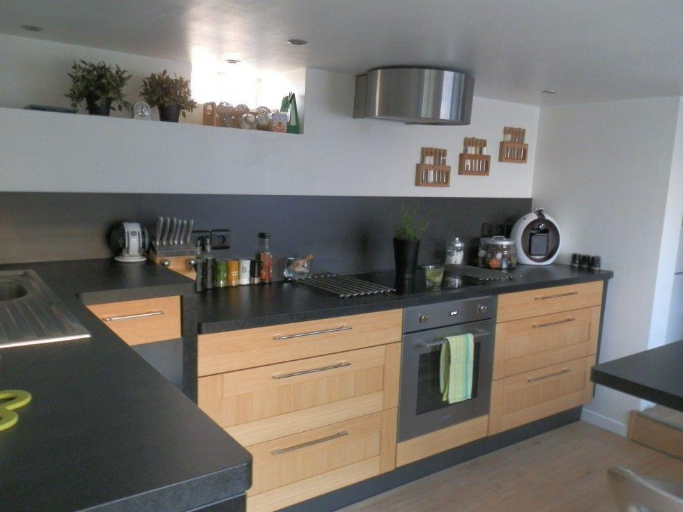 Quel plan de travail pour une cuisine en chene clair