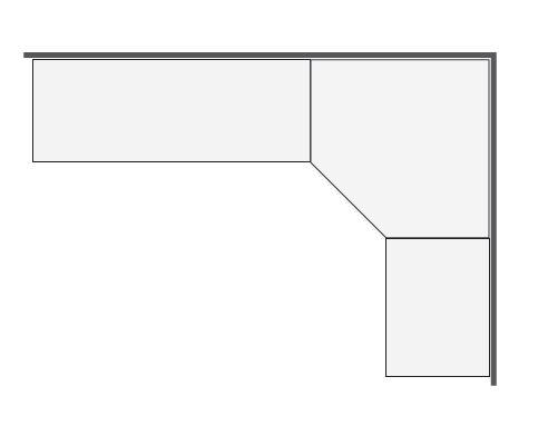 video decoupe plan de travail en angle livraison. Black Bedroom Furniture Sets. Home Design Ideas