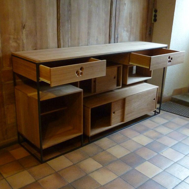 fabriquer meuble sous plan de travail livraison. Black Bedroom Furniture Sets. Home Design Ideas