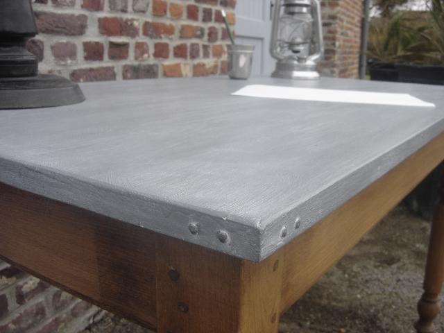 Plan de travail en zinc pour cuisine livraison clenbuterol.fr
