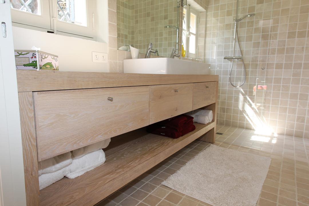 meuble de salle de bain sous plan de travail livraison. Black Bedroom Furniture Sets. Home Design Ideas