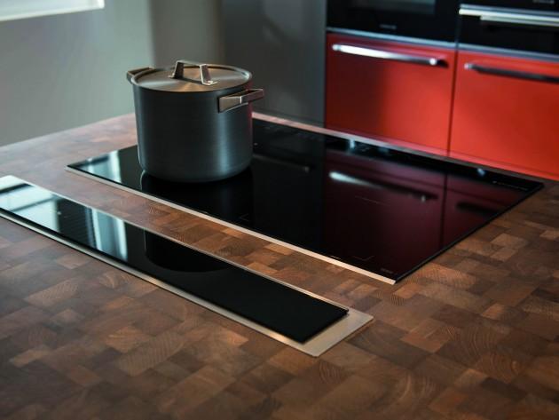 hotte escamotable sur plan de travail livraison. Black Bedroom Furniture Sets. Home Design Ideas