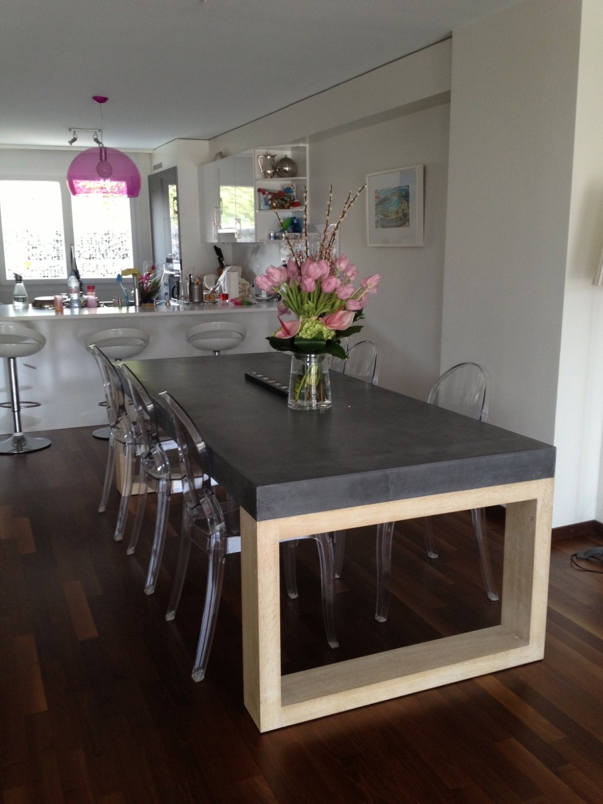 fabriquer table avec plan de travail livraison. Black Bedroom Furniture Sets. Home Design Ideas