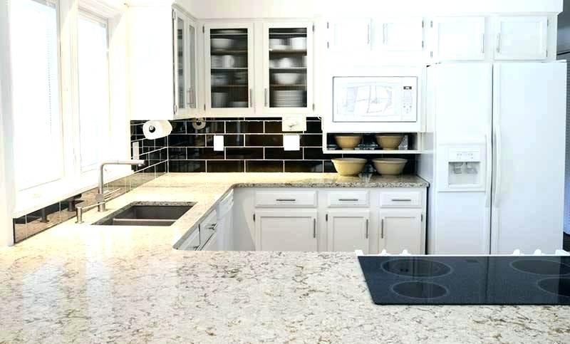 cuisine avec plan de travail en granit marron livraison. Black Bedroom Furniture Sets. Home Design Ideas