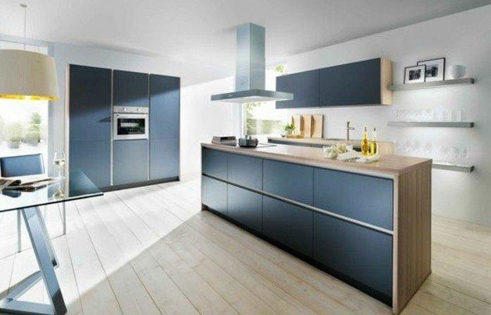 cuisine gris fonc plan de travail bois livraison. Black Bedroom Furniture Sets. Home Design Ideas