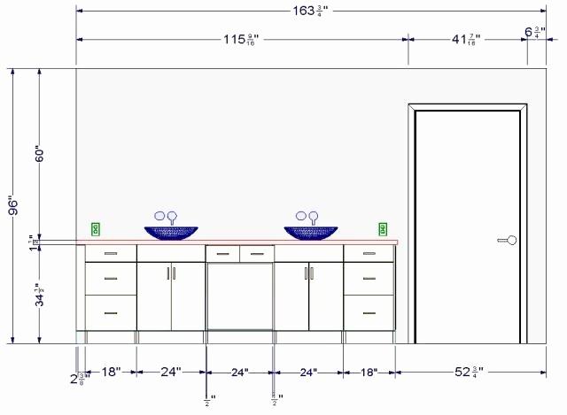 Hauteur plan de travail salle de bain handicap - Hauteur d un miroir de salle de bain ...