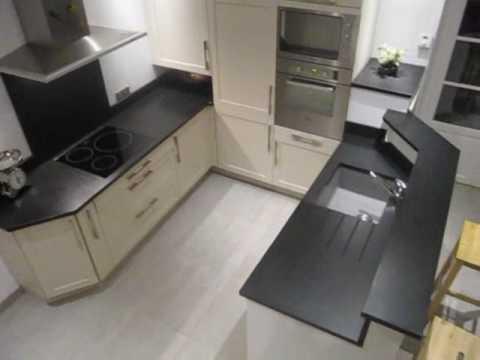 plan de travail cuisine marbre noir livraison. Black Bedroom Furniture Sets. Home Design Ideas