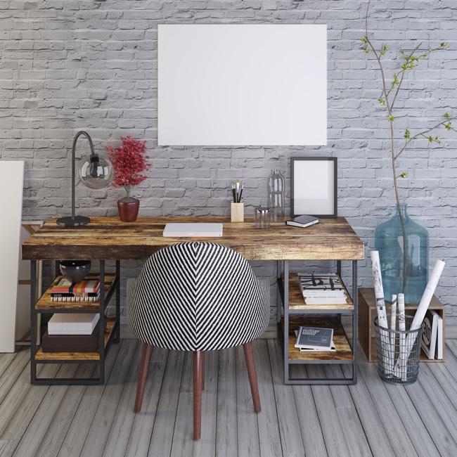 Bureau avec plan de travail pivotant livraison Bureau avec plan de travail