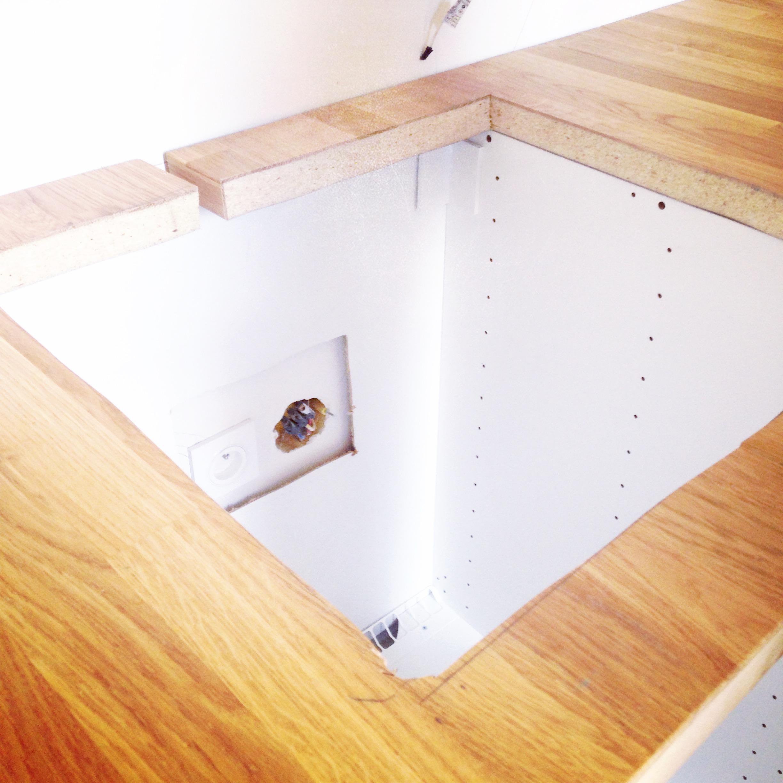 Ikea velizy decoupe plan de travail