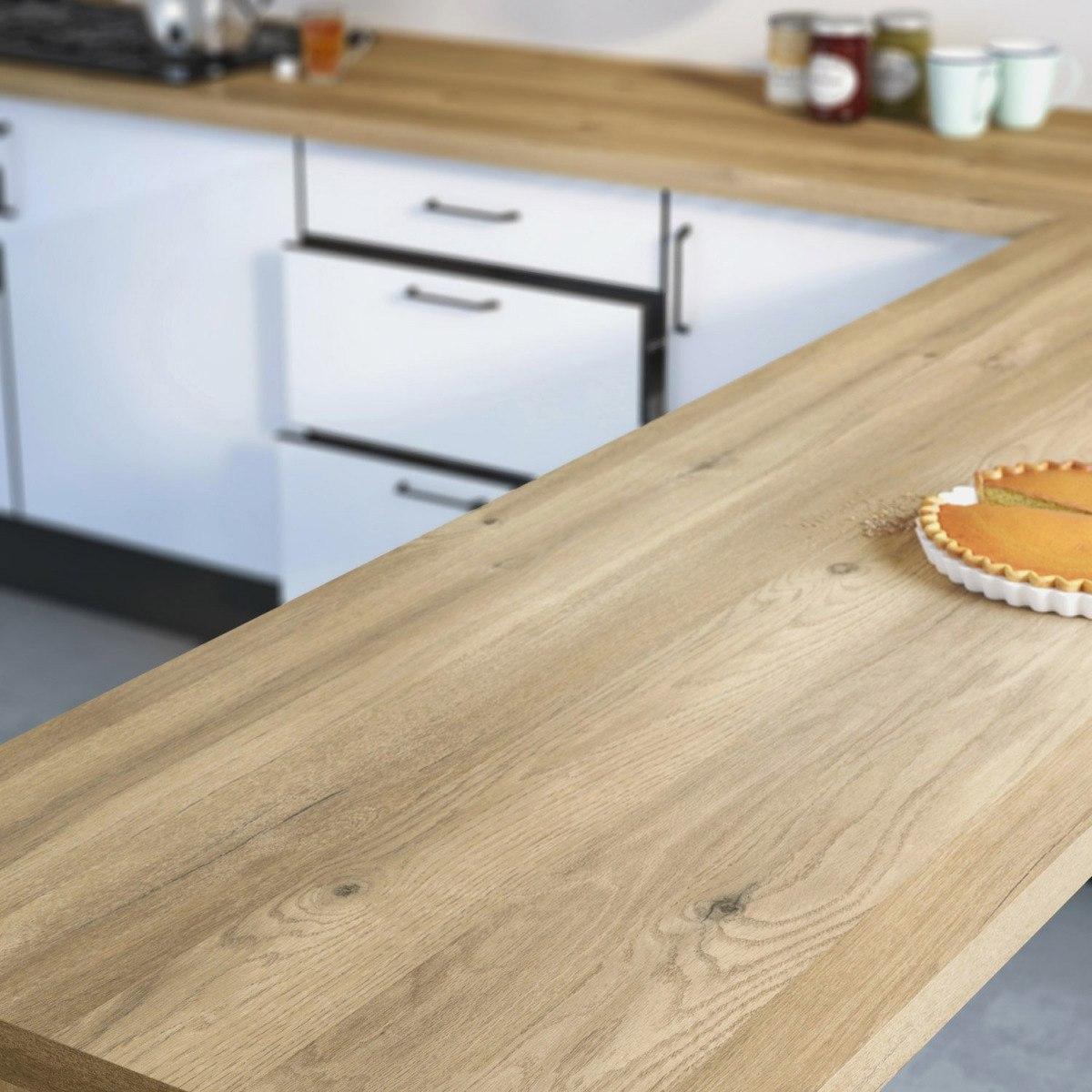 Ikea plan de travail cuisine chene