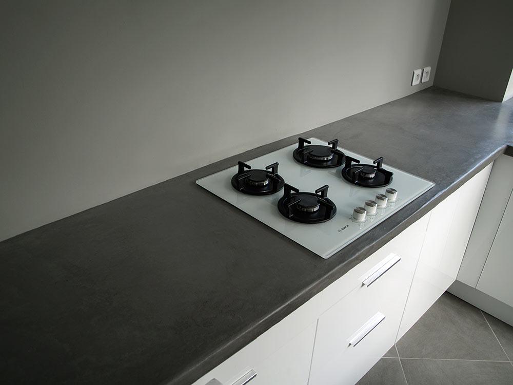 faire plan de travail beton cire livraison. Black Bedroom Furniture Sets. Home Design Ideas