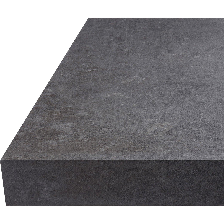 Plan de travail gris pierre