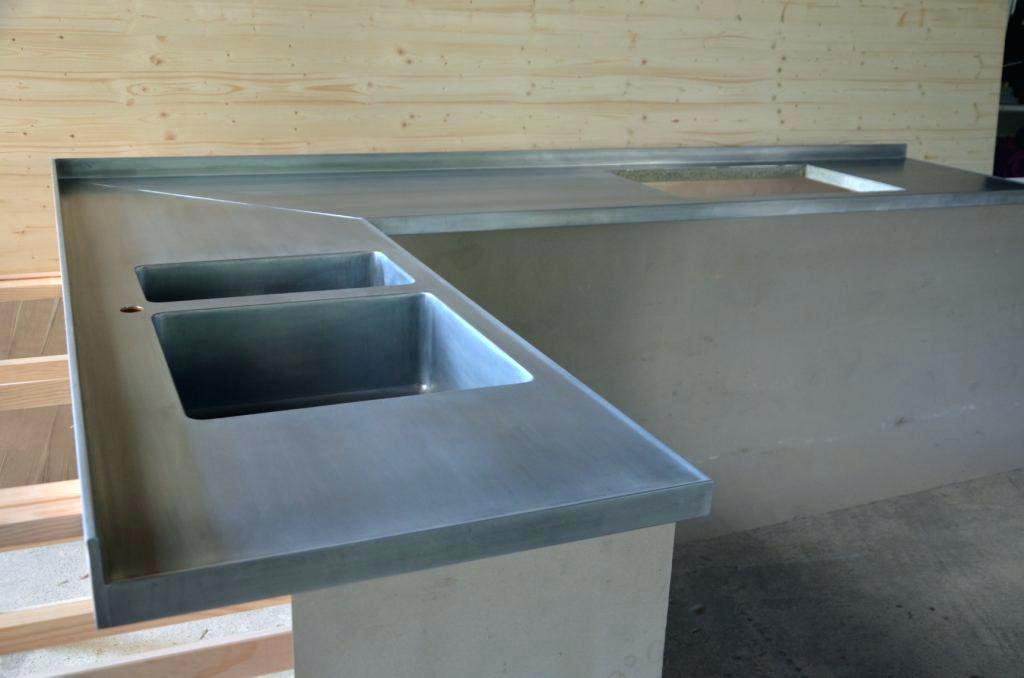zinc sur plan de travail  livraisonclenbuterolfr