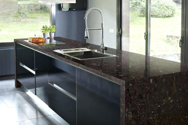 Plan de travail cuisine granit avis livraison - Plan de travail cuisine en granit prix ...