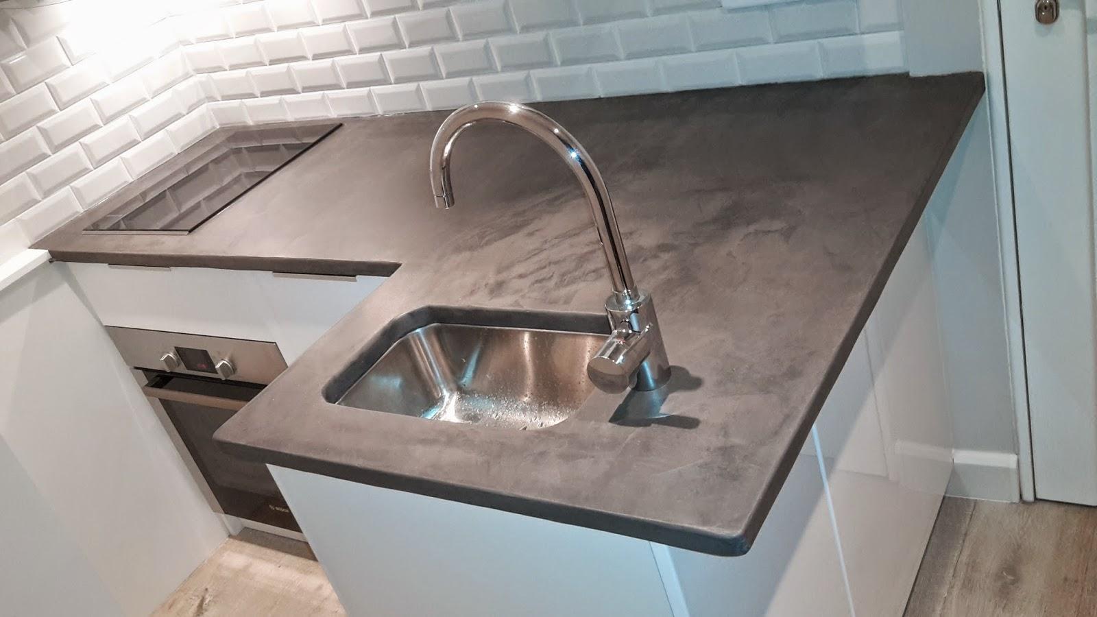 plan de travail stratifi beton cir livraison. Black Bedroom Furniture Sets. Home Design Ideas