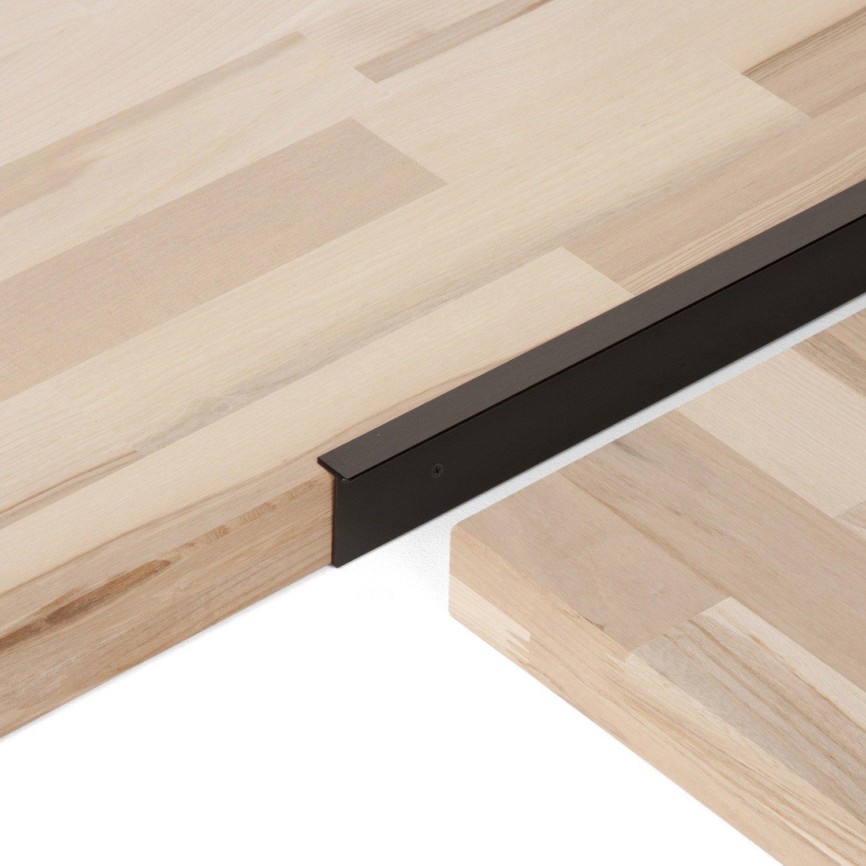 profil de finition plan de travail 28mm noir livraison. Black Bedroom Furniture Sets. Home Design Ideas