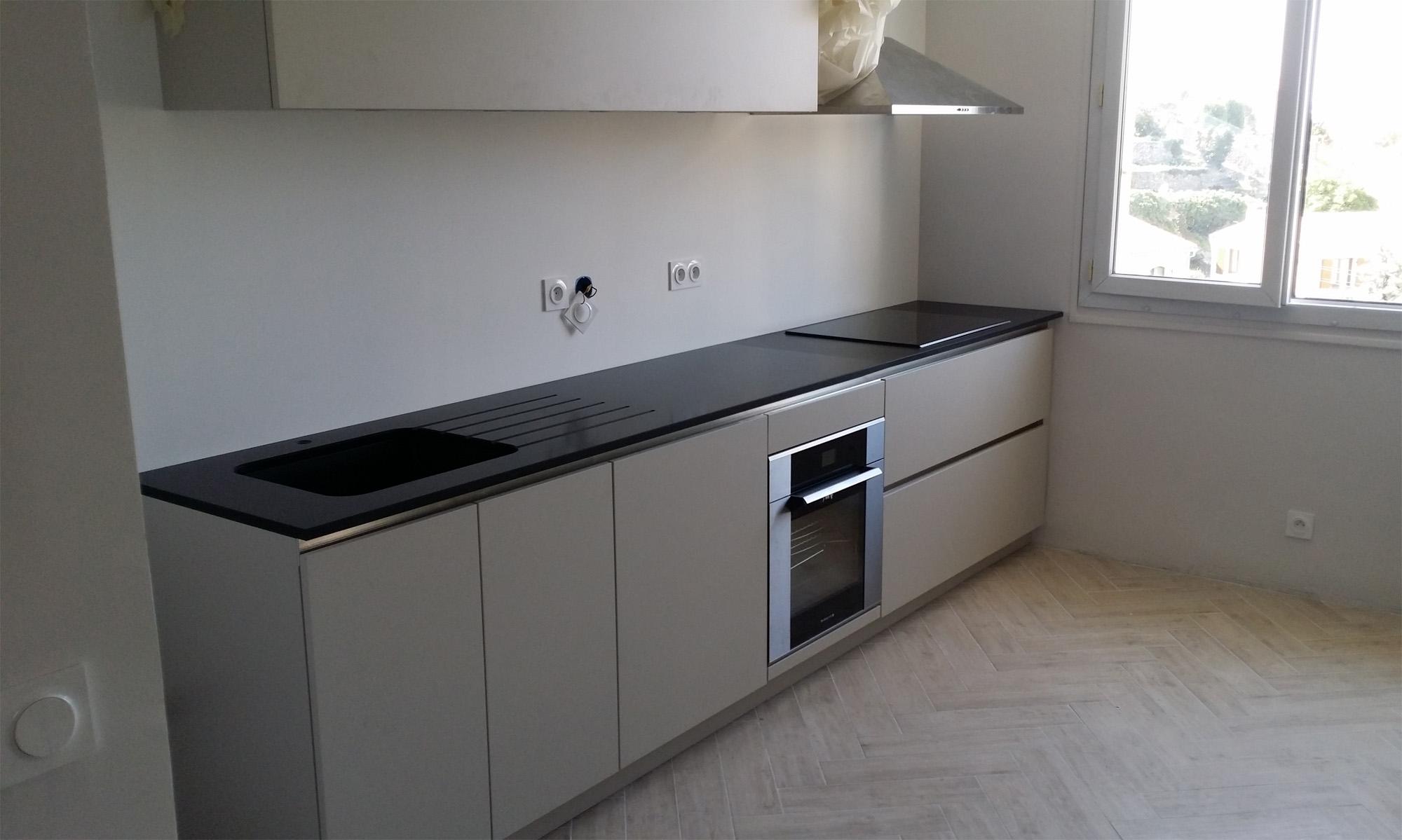 Epaisseur plan de travail cuisine granit