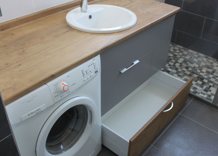 Meuble de salle de bain sous plan de travail livraison - Meuble sous plan de travail ...