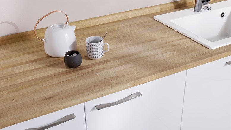 Plan de travail resine couleur bois